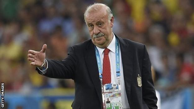 World Cup 2014: Vicente Del Bosque willing to leave Spain role ...