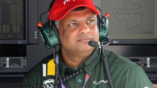 Caterham boss Tony Fernandes hints at Formula 1 exit - BBC Sport