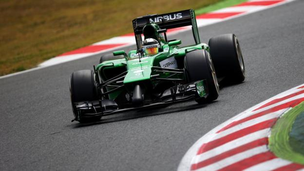 F1: Caterham team is sold by Tony Fernandes to a consortium - BBC ...