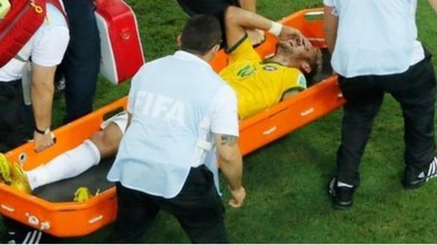 Neymar injury: Brazil's World Cup dream suffers setback - BBC Sport