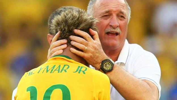 World Cup 2014: Brazil can cope without Neymar, says Scolari ...