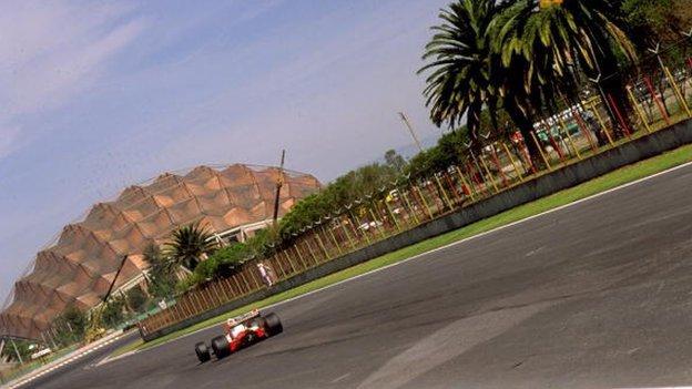 Formula 1: Mexico Grand Prix returns to calendar for 2015 - BBC Sport