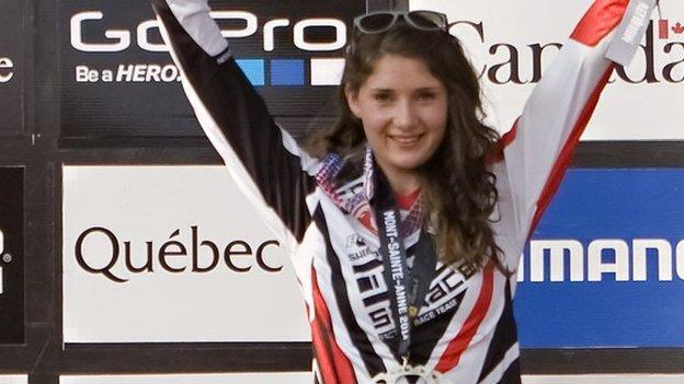 Manon Carpenter wants mountain bike world downhill crown ...