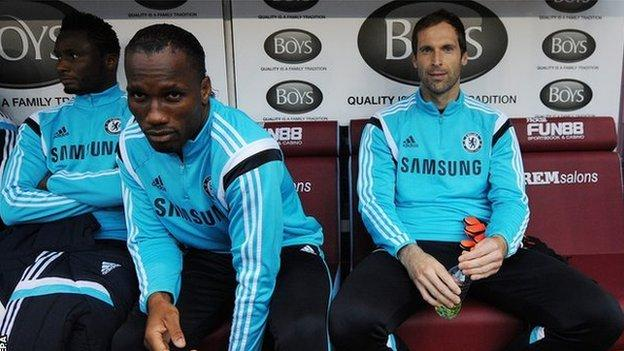 Jose Mourinho wants substitute Petr Cech to stay at Chelsea - BBC ...