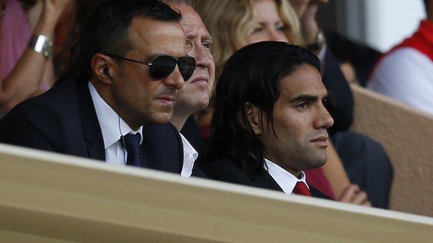 Radamel Falcao claims Real Madrid tweet a 'photo montage' - BBC ...