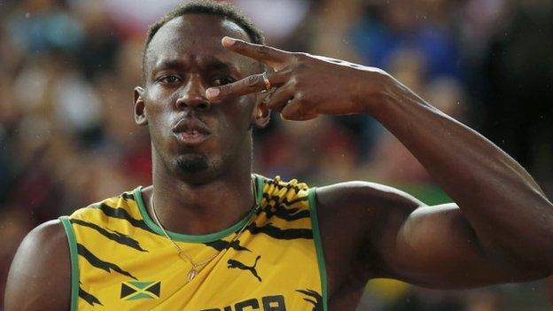 Usain Bolt targets sub-19 second 200m world record - BBC Sport