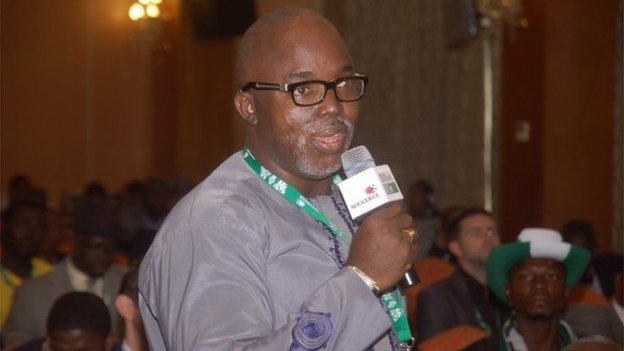 Nigeria seeks links with Germany - BBC Sport