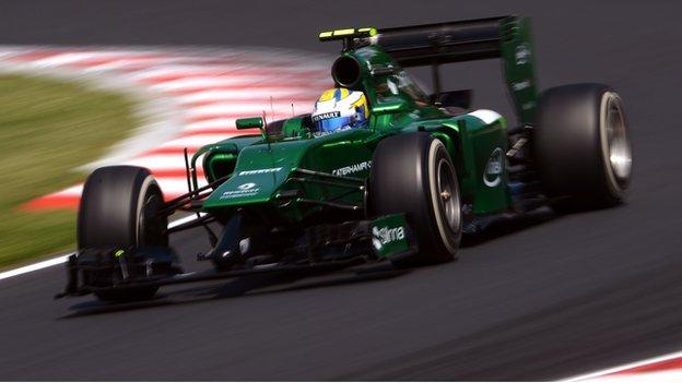 Caterham pledge to race in Japan Grand Prix despite bailiffs visit ...