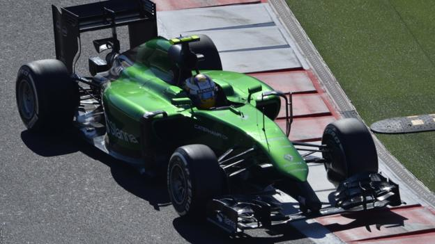 Caterham owners' row with Tony Fernandes puts future in doubt ...