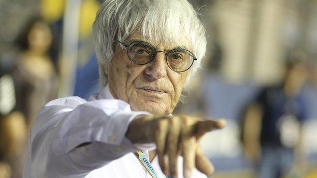Caterham: Bernie Ecclestone trying to resolve F1 team dispute ...