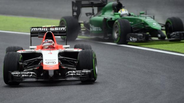 Marussia and Caterham to miss US Grand Prix - Bernie Ecclestone ...