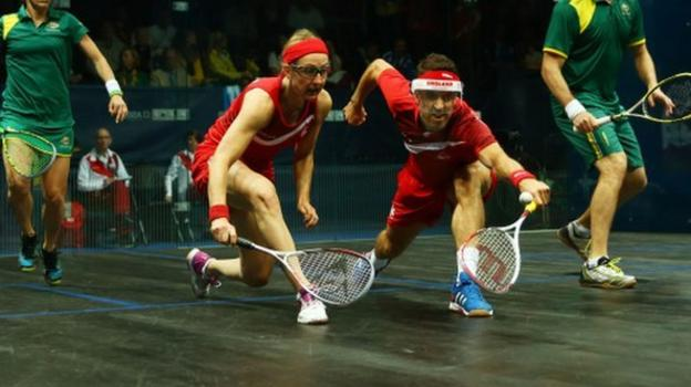 what represents the sport squash in england the