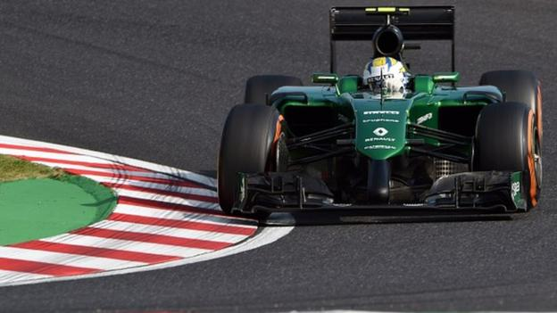 Caterham to race in Abu Dhabi finale after fundraising success BBC