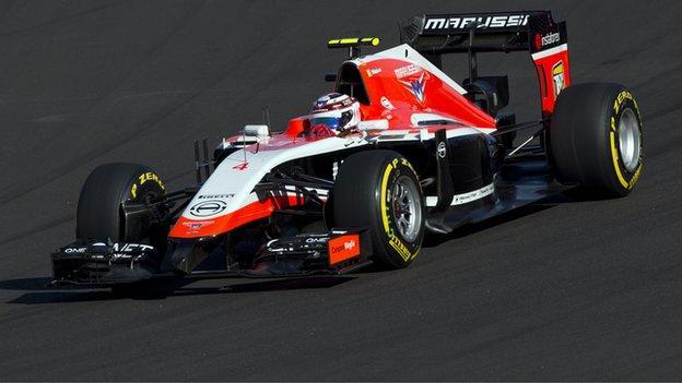 formula 1 gossip marussia could race in abu dhabi   bbc sport