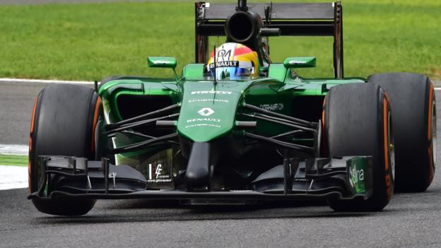 Caterham administrator reveals 230 staff redundancies - BBC Sport