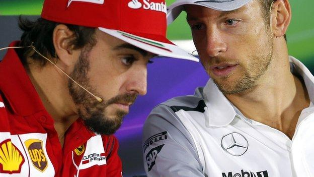 McLaren confirm Jenson Button & Fernando Alonso for 2015 - BBC ...