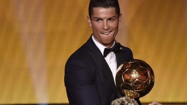 Cristiano Ronaldo wins Ballon d'Or over Lionel Messi & Manuel Neuer