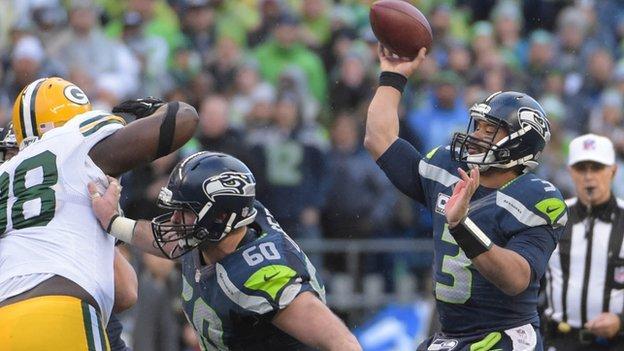 Seattle Seahawks & New England Patriots reach Super Bowl - BBC ...
