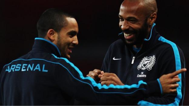 Theo Walcott: Arsenal strikeforce 'better than Henry era of 2006 ...