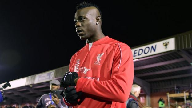 Mario Balotelli: Liverpool striker will get more chances - Rodgers ...