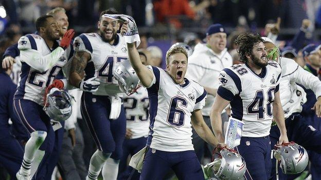 Super Bowl: Patriots beat the Seahawks in dramatic finale - BBC Sport