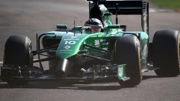 Caterham hopes fade as team's remaining assets go up for sale ...