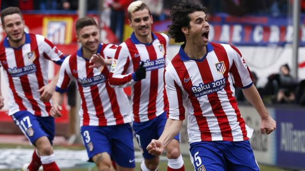 Atletico Madrid 4-0 Real Madrid - BBC Sport