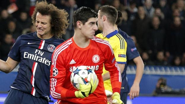 PSG 1-1 Chelsea: Five things we learned at Parc des Princes - BBC ...