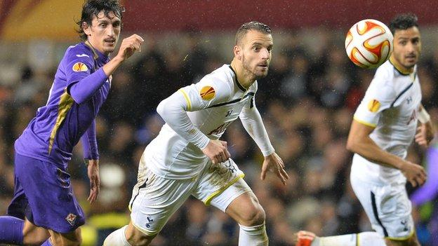 Tottenham Hotspur 1-1 Fiorentina - BBC Sport