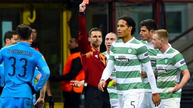 Europa League: Inter Milan 1-0 Celtic (agg 4-3) - BBC Sport