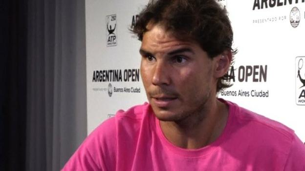 Rafael Nadal says tennis must protect clay surface - BBC Sport