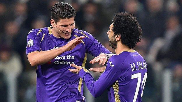 Juventus 1-2 Fiorentina - BBC Sport