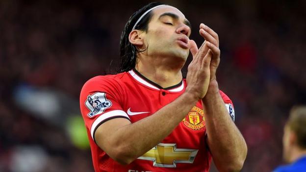 Radamel Falcao: Louis van Gaal wants 'solution' for Man Utd striker ...
