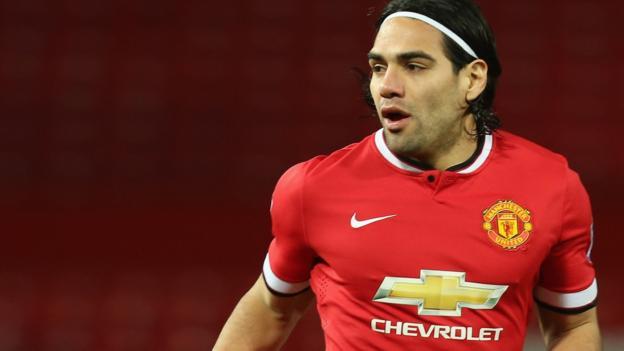 Radamel Falcao: Striker's Man Utd plight left him in tears, says ...