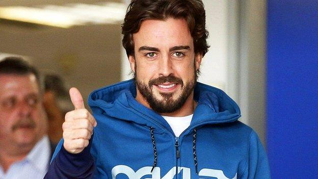 Fernando Alonso closer to return in Malaysia after concussion tests ...