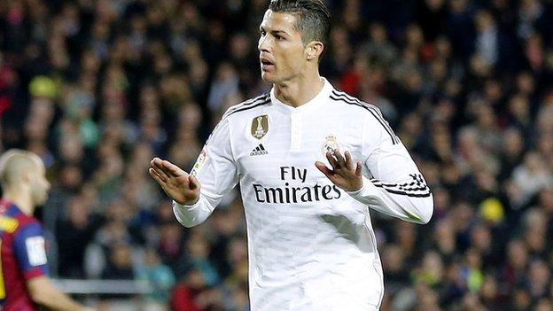Cristiano Ronaldo could be fined for 'calm down ...