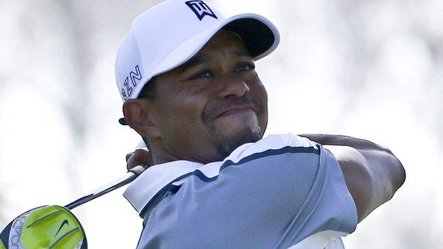 Tiger Woods: 14-time major winner drops out of world's top 100 ...