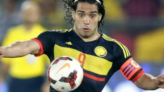 Radamel Falcao: Manchester United striker equals goal record ...