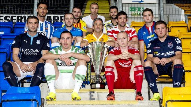 Scottish premiership post split fixtures released bbc sport - Bbc football league 1 table ...