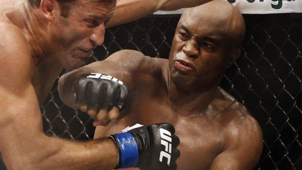 Taekwondo: UFC star Anderson Silva aiming for Rio 2016 - BBC Sport
