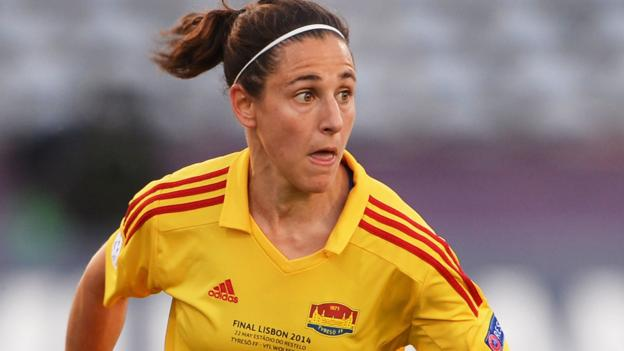 BBC's Women's Footballer of the Year: Veronica Boquete - BBC Sport