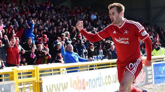 Inverness CT 1-2 Aberdeen - BBC Sport