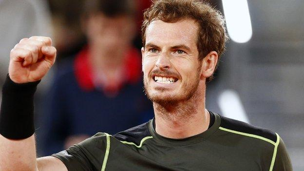 Madrid Masters: Andy Murray & Rafael Nadal progress to the semis ...