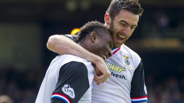 Dundee 0-1 Inverness CT - BBC Sport