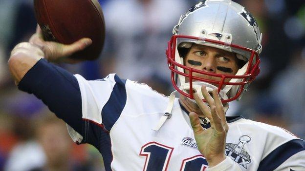 Tom Brady: Patriots' player appeals against 'Deflate-gate' ban - BBC ...