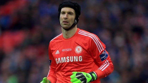 Petr Cech: Chelsea keeper 'given permission' to talk to other clubs ...