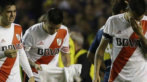 Boca Juniors: Argentine club thrown out of Copa Libertadores - BBC ...