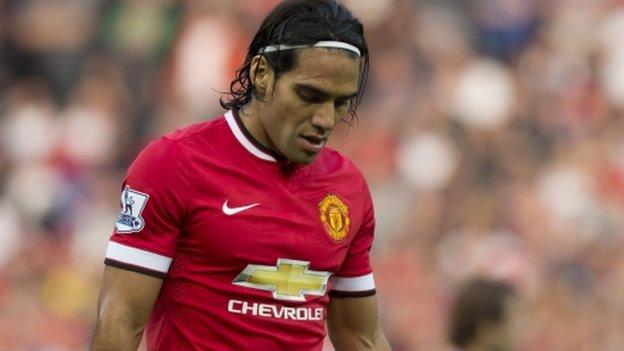 Radamel Falcao: Manchester United decide not to sign striker - BBC ...