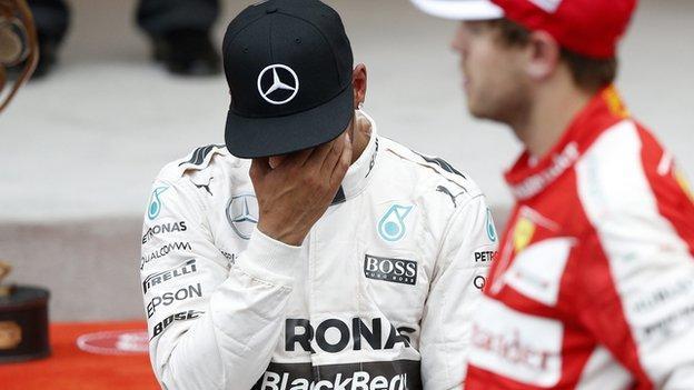Lewis Hamilton: Mercedes apologise after Monaco GP error - BBC ...