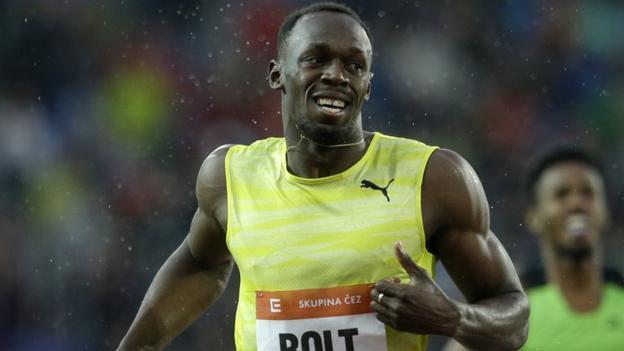 Usain Bolt wins 200m at Golden Spike meet in Ostrava - BBC Sport